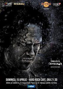 Concert Daniel Cavanagh (Anathema) la Hard Rock Cafe @ Hard Rock Cafe