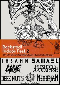 Rockstadt Indoor Fest 2018 @  Kruhnen Musik Halle