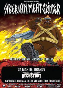 Concert Siberian Meat Grinder in club Rockstadt Brasov @ Rockstadt
