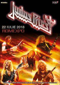 Concert Judas Priest in iulie la Romexpo @ Romexpo
