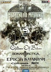 Metalhead Meeting 2018 @ Arenele Romane
