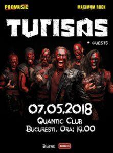 Concert Turisas in mai in club Quantic @ Club Quantic