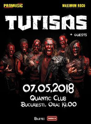 Concert Turisas in mai in club Quantic