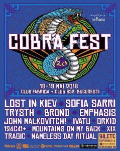 Cobra Fest 2.0 @ Club Fabrica