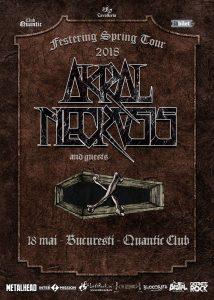 Concert Akral Necrosis in club Quantic @ Club Quantic | București | Municipiul București | Romania