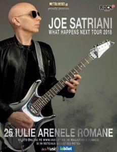Joe Satriani la Arenele Romane din Bucuresti @ Arenele Romane | București | Municipiul București | Romania