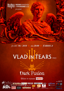 Concert Vlad in Tears si Dark Fusion in club Fabrica @ Club Fabrica