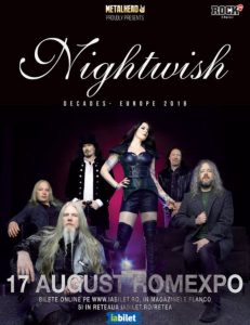 Concert Nightwish in august la Romexpo @ Romexpo | București | Municipiul București | Romania