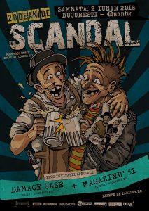 Concert aniversar Scandal in club Quantic @ Club Quantic | București | Municipiul București | Romania