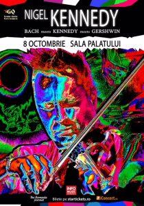 Concert Nigel Kennedy: Bach & Gershwin la Sala Palatului @ Sala Palatului | București | Municipiul București | Romania
