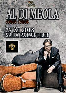 Concert Al Di Meola in noiembrie la Bucuresti @ Sala Palatului | București | Municipiul București | Romania