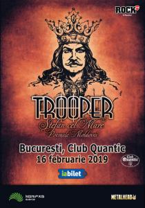 Concert Trooper, lansare album Stefan cel Mare - Poemele Moldovei @ Club Quantic | București | Municipiul București | Romania