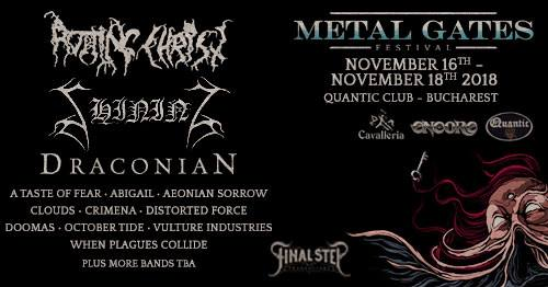 Darkest Horizon, 1914, Tenebres, Damage Case si Machiavellian God concerteaza la Metal Gates Festival